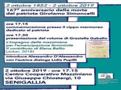 Commemorazione Simoncelli 2 ottobre 2019