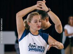 Corsi di ballo del Summer Jamboree - Diana Romano e Marco Ginevri - Foto Beatrice Perticaroli