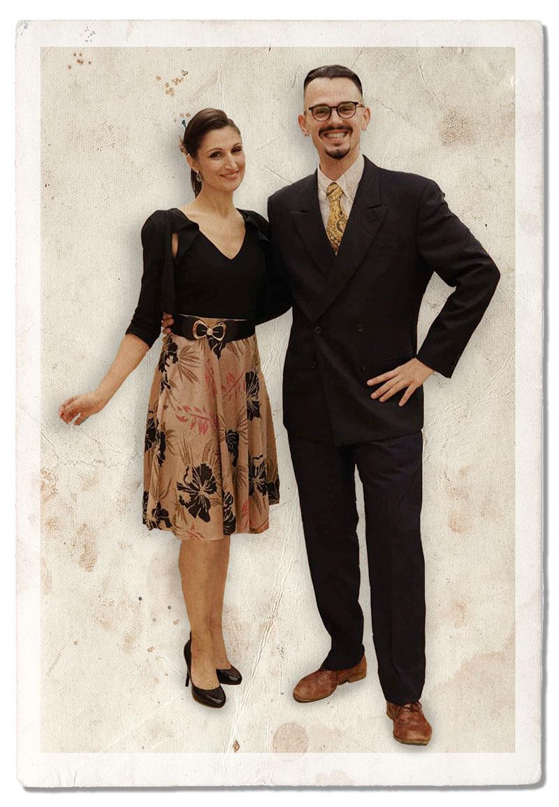 Corsi di ballo del Summer Jamboree - Carlotta Mignani e Luca Rizzioli