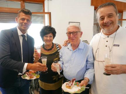 Festa alla Fondazione Città di Senigallia per Mario Casagrande