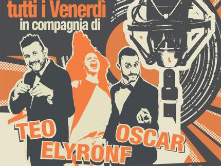 Karaoke all'osteria Da Adamo con Ely Ronf, Oscar e Teo