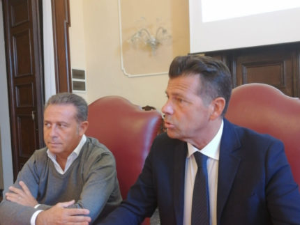 Maurizio Memè e Maurizio Mangialardi