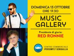 Music Gallery al Centro Commerciale Ipersimply Senigallia - Red Ronnie presidente di giuria