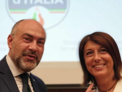 Massimo Bello e Roberta Angelilli