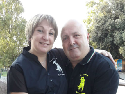 Monia Bragieri e Massimo Montesi