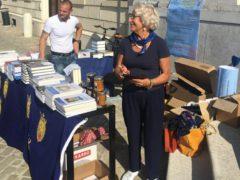 Banchetto organizzato nell'ambito del raduno nazionale dei Dalmati