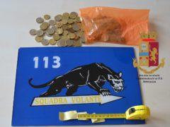 Monete rinvenute dalla Polizia