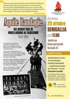 Aquile Randagie alla Chiesa del Cancelli di Senigallia - locandina
