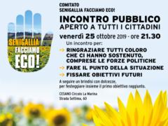 Senigallia Facciamo Eco! - Incontro pubblico del 25 ottobre 2019