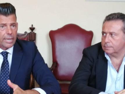 Maurizio Mangialardi e Maurizio Memè