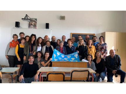 Studenti della III D Fagnani del 1989 riuniti nel 2019