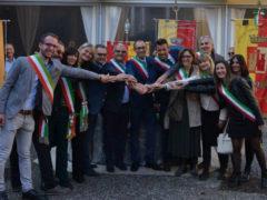 Mangialardi e Bucari alle celebrazioni del cinquantesimo anniversario del ritrovamento delle spoglie di Bartolomeo Colleoni