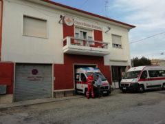 La sede storica della CRI di Senigallia in via Narente