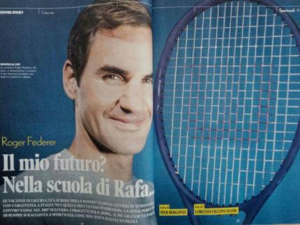 Roger Federer fotografato da Cicconi Massi