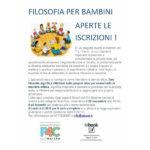 Laboratori di filosofia per bambini alla libreria Iobook di Senigallia