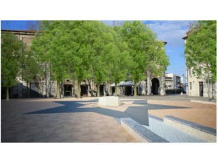 la nuova piazza Simoncelli