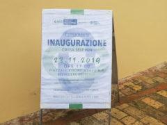 Annuncio inaugurazione BCC Ostra e Morro d'Alba a Belvedere Ostrense
