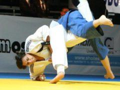 La campionessa di judo Lucia Morico