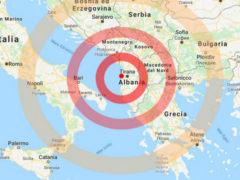 Scossa di terremoto in Albania-sud-italia