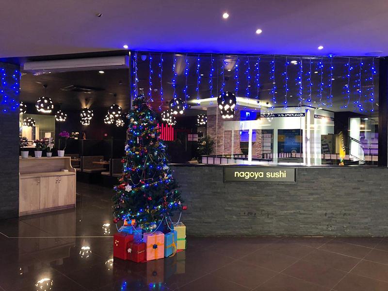 Si avvicina il Natale al ristorante Nagoya Sushi Senigallia