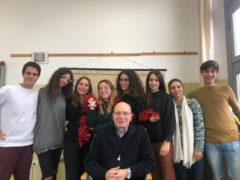 Concerto di canti natalizi della Schola Cantorum con gli alunni del Liceo Classico