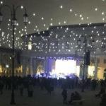 L8 per il futuro - Afflusso prima della serata in piazza Garibaldi