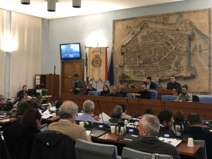 Consiglio comunale di Pesaro
