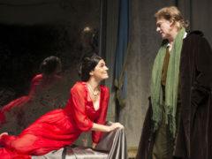 Valeria Solarino e Giulio Scarpati nel Misantropo di Molière