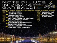 """""""Note di luce"""" in piazza Garibaldi"""