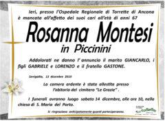 E' mancata all'affetto dei suoi cari Rosanna Montesi in Piccinini