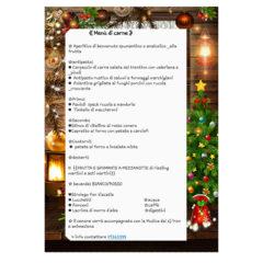 Menù di Capodanno 2020 del ristorante Al Vicoletto da Michele di Senigallia