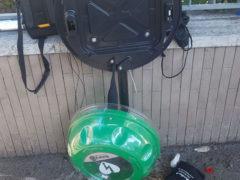 defibrillatore rotto