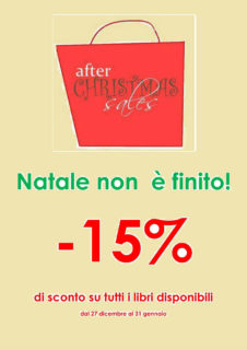 After Christmas Sale: sconti alla libreria IoBook di Senigallia