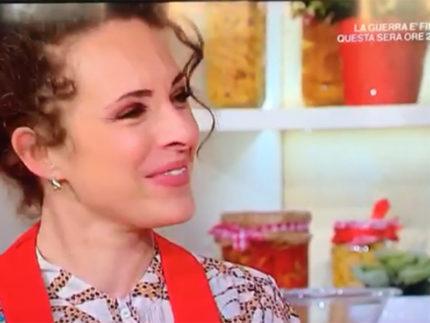 Sara Antognoni alla Prova del Cuoco