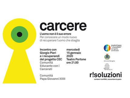 Carcere - Incontro a Senigallia organizzato da Scuola di Pace Buccelletti