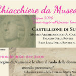 Chiacchiere da Museo 2020 a Castelleone di Suasa