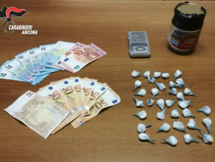 cocaina sequestrata