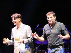 Piero Massimo Macchini e Max Giusti