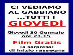 Film del giovedì al Gabbiano