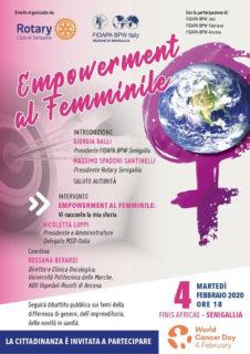 Empowerment al femminile - locandina