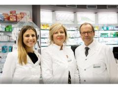 Beatrice Avitabile, Manuela Busbani, Andrea Avitabile - Farmacia Avitabile Senigallia