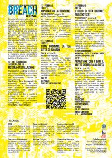Breach Festival #0 - locandina retro