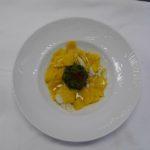 Maltagliati all'uovo con Baccalà Cicoria e Patate