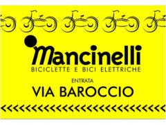 Mancinelli Bici Senigallia - Avviso per ingresso da via Baroccio