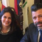 Chantal Bomprezzi e Maurizio Mangialardi