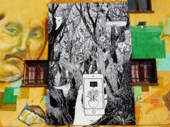 Poster realizzato da Giacomo Giovannetti per Breach Festival