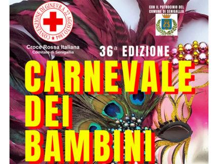 Carnevale dei Bambini 2020 organizzato dalla CRI di Senigallia