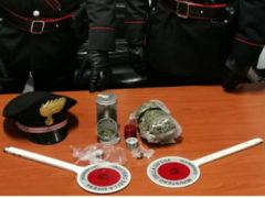 Stupefacenti trovati in casa di un 40enne arrestato dai Carabinieri