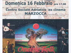 Oneiric Folk a Marzocca