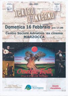 Oneiric Folk a Marzocca - locandina